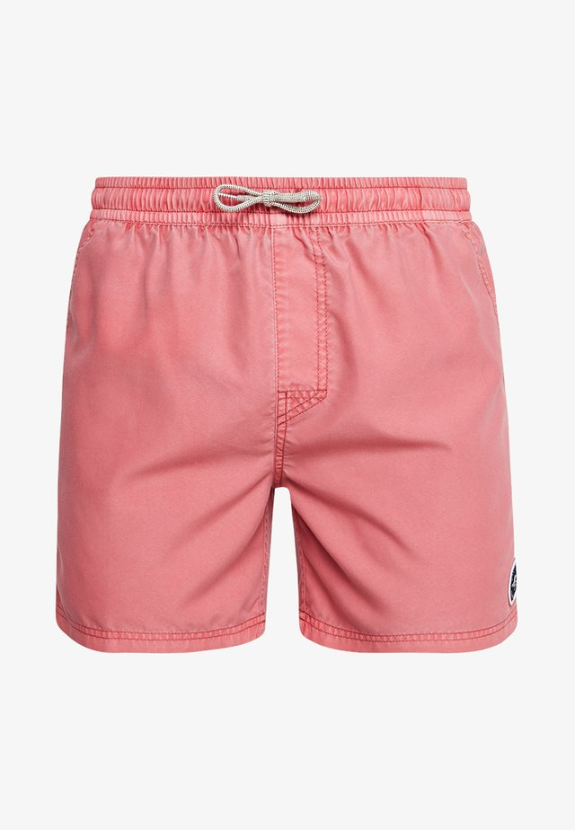 VOLLEY SUNSET SHADES - Surfshorts - light red
