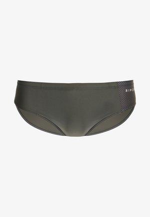SLIPPO SWIMWEAR - Costume da bagno - charcoal grey