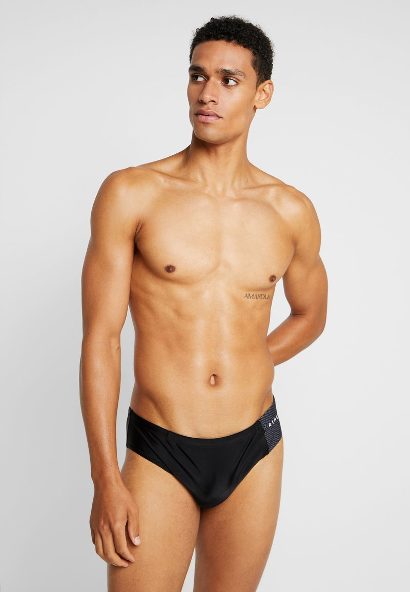 Rip Curl - SLIPPO SWIMWEAR - Swimming briefs - black