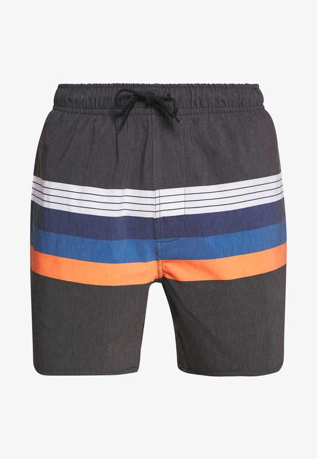 LAYERED VOLLEY - Surfshorts - black