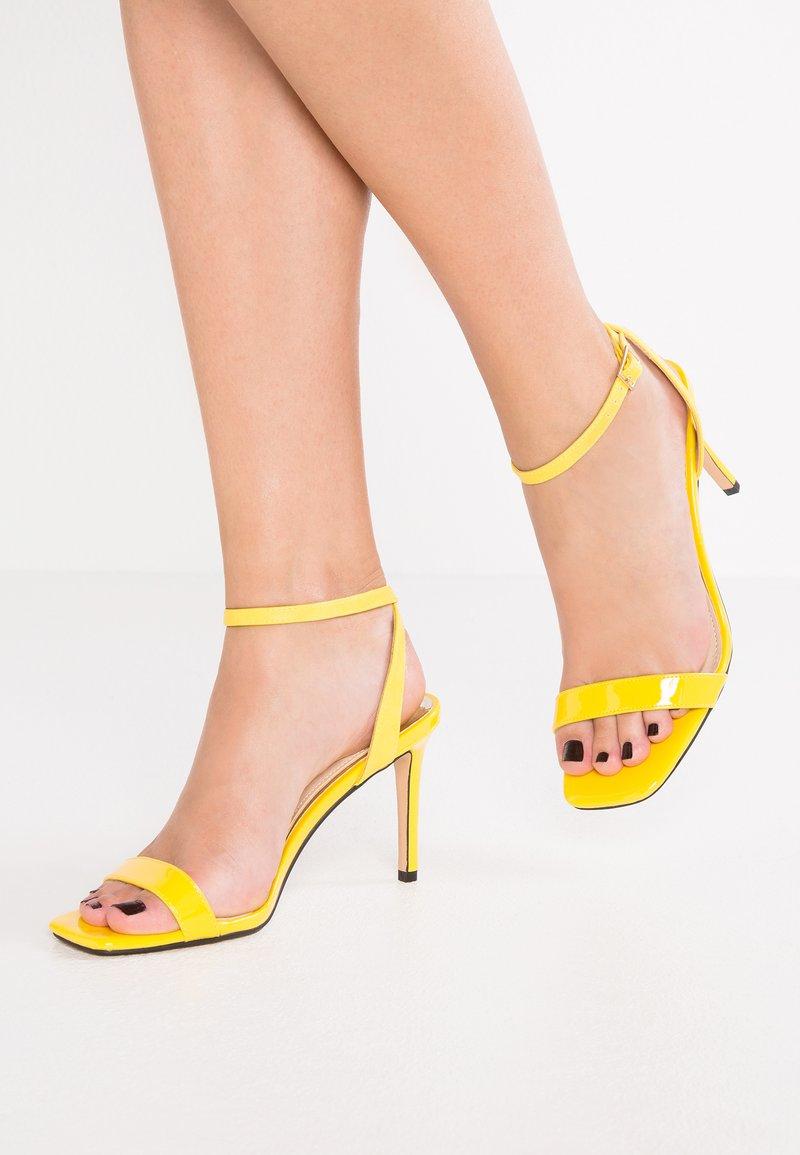 River Island - High Heel Sandalette - yellow