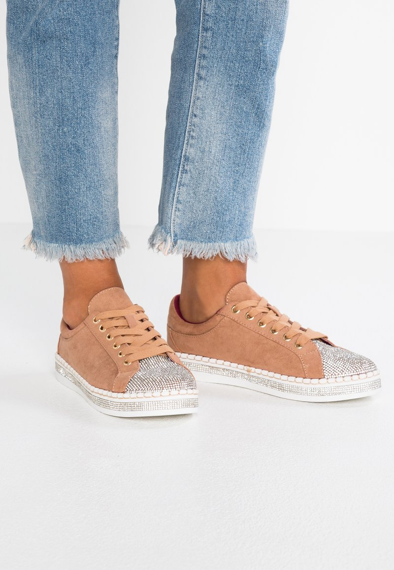 River Island - Sneaker low - nude