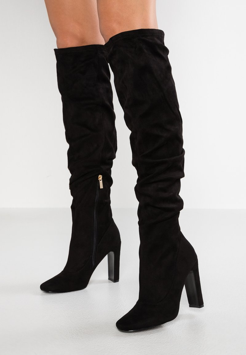 River Island - Over-the-knee boots - black