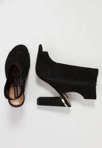 River Island - High heeled sandals - black - 3