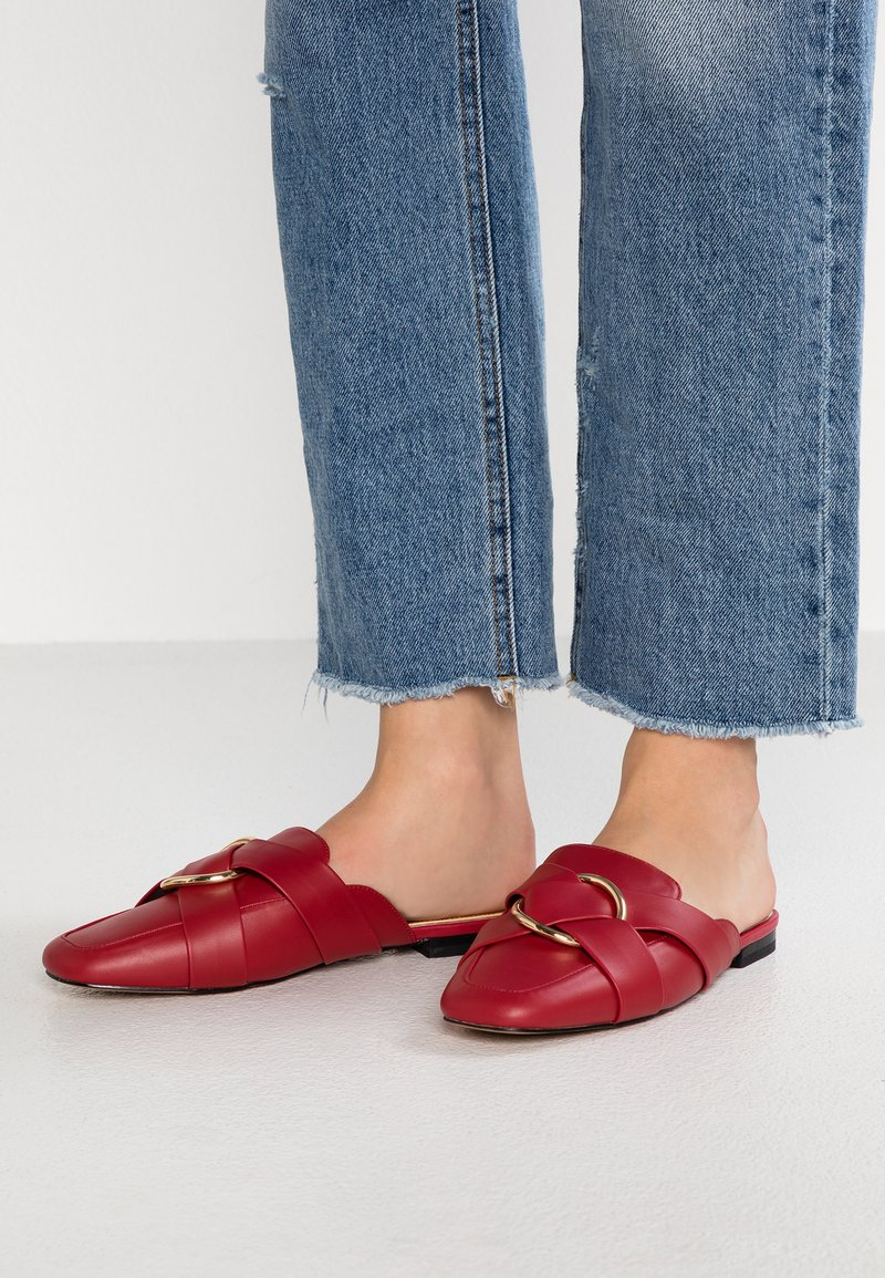 River Island - Mules - red