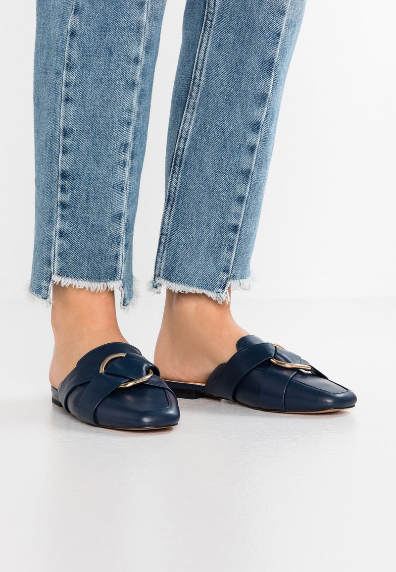 River Island - Mules - navy