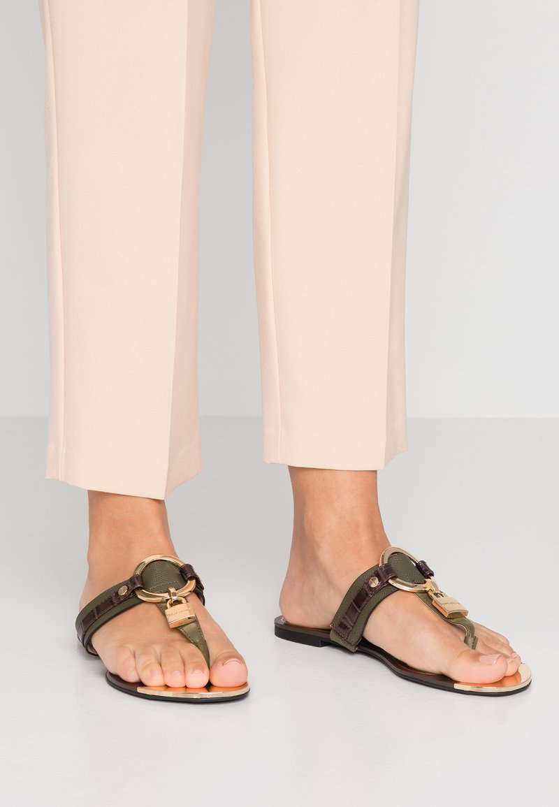 River Island - T-bar sandals - khaki