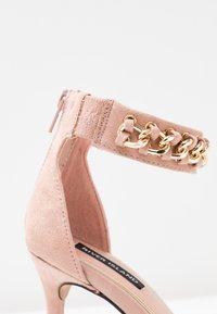 River Island - Sandaler med høye hæler - pink light - 2