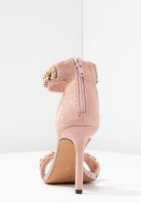 River Island - Sandaler med høye hæler - pink light - 5