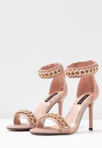 River Island - Sandaler med høye hæler - pink light - 4