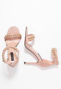 River Island - Sandaler med høye hæler - pink light - 3