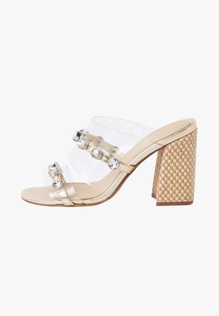 River Island - Heeled mules - white