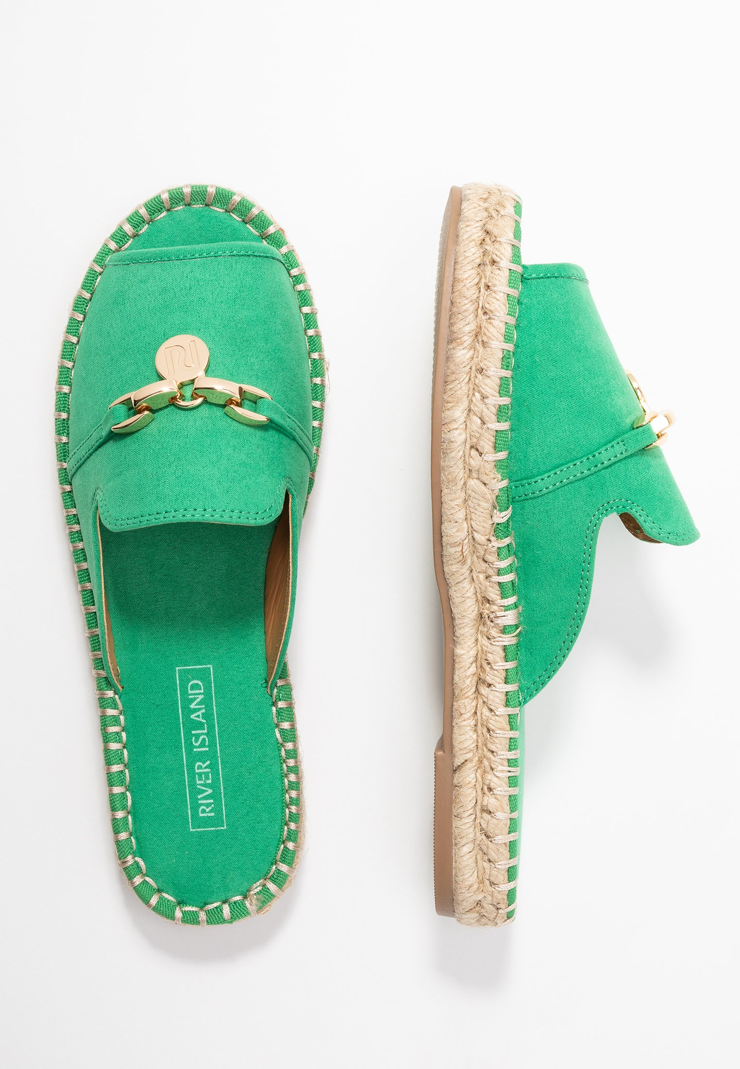 River Island Mules - Green