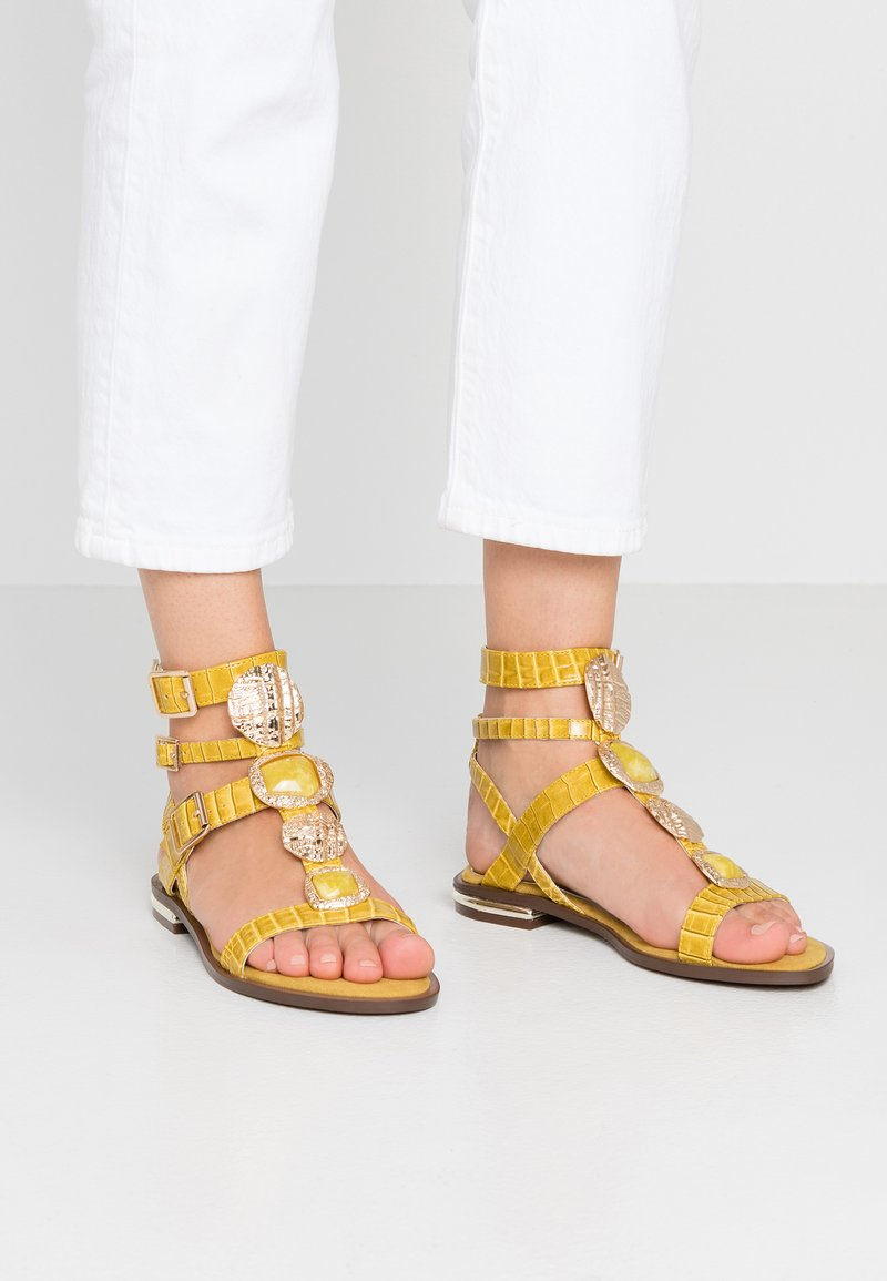 River Island - Sandals - lime