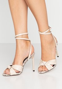 River Island - High heeled sandals - bone - 0