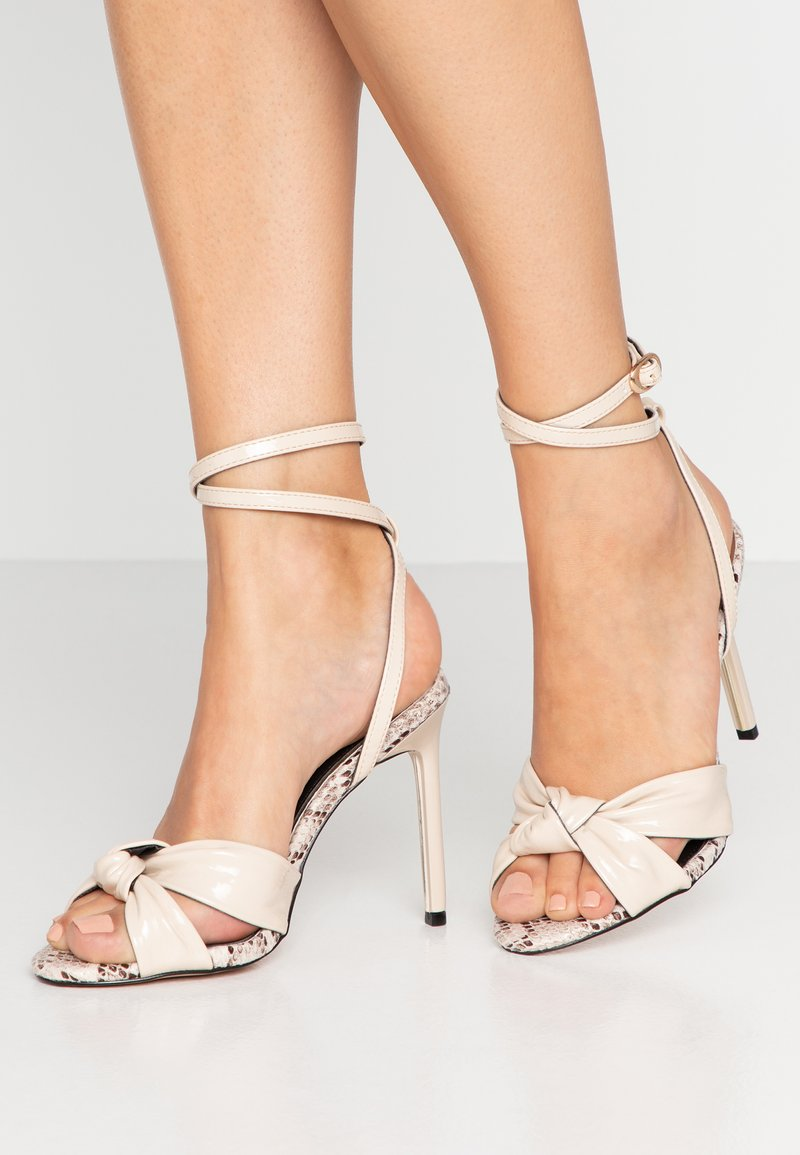 River Island - High heeled sandals - bone