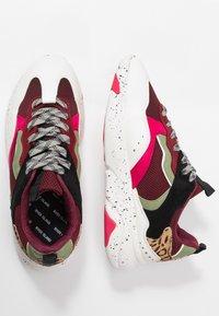 River Island - Sneakers laag - red dark - 3