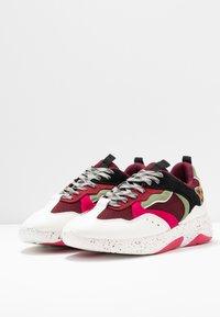 River Island - Sneakers laag - red dark - 4