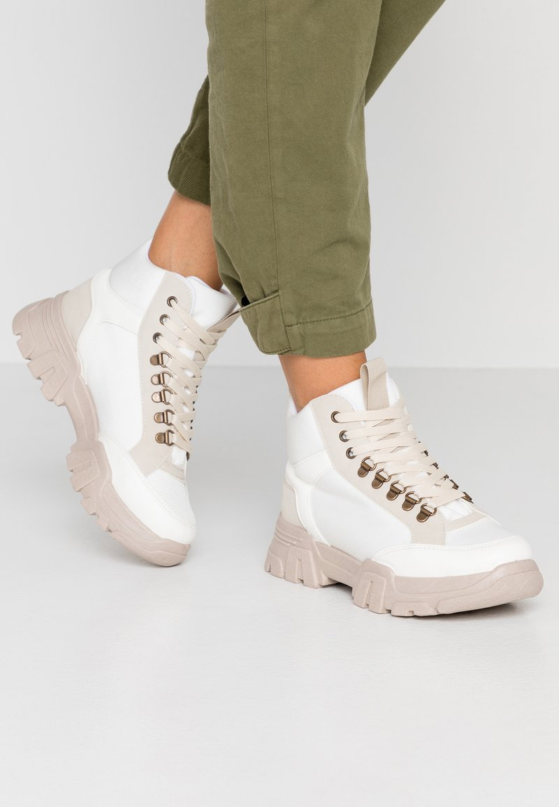 River Island - Ankelboots - white
