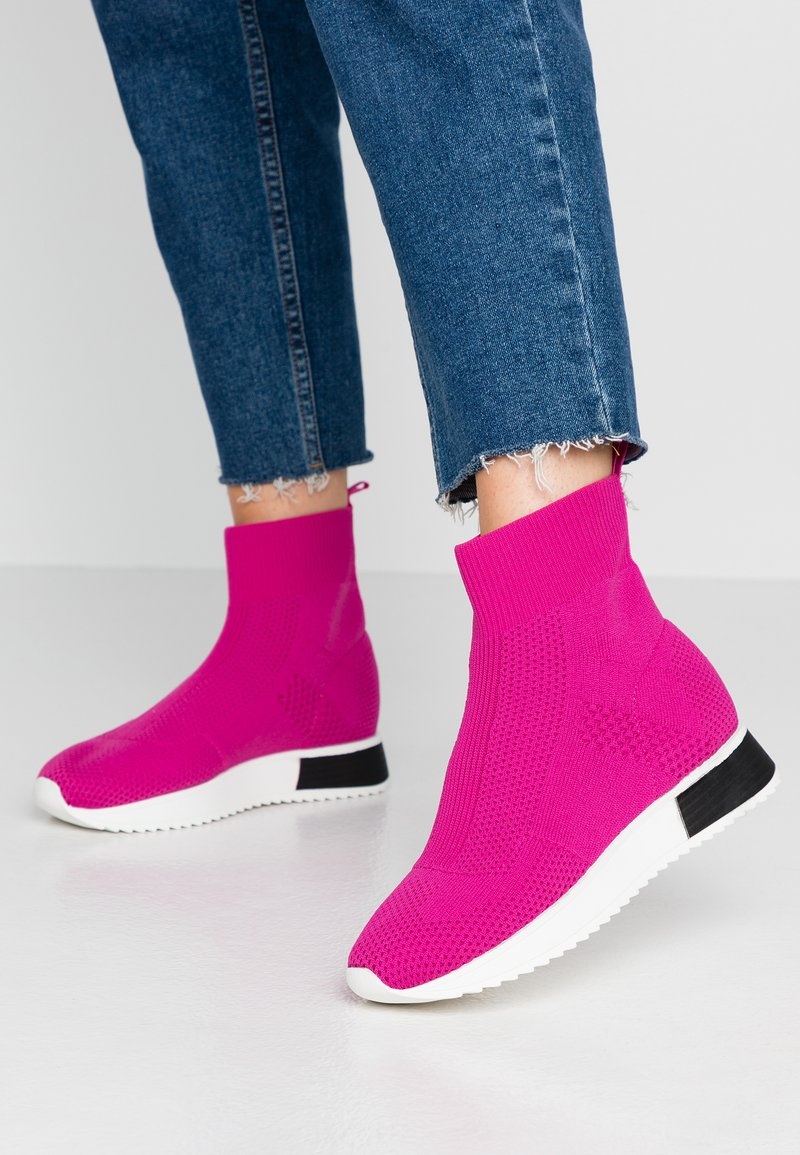 River Island - Sneakers high - pink