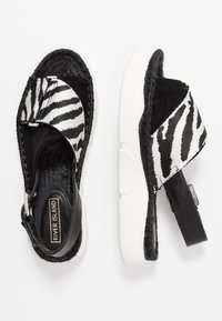 River Island - Platform sandals - black - 3