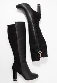 River Island - Boots med høye hæler - black - 3