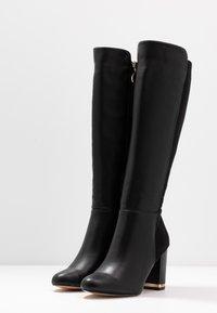River Island - Boots med høye hæler - black - 4