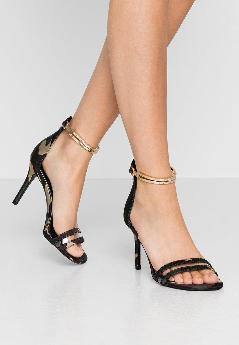 River Island - High heeled sandals - green