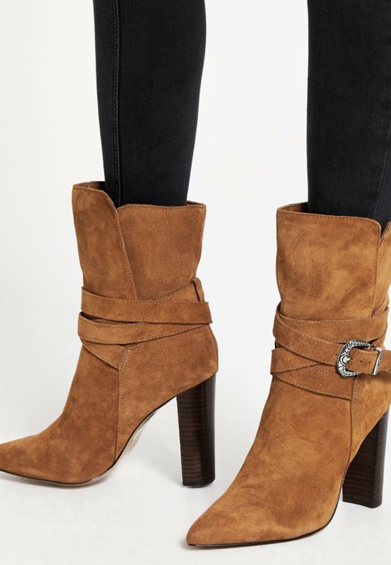 River Island Bottines à talons hauts brown