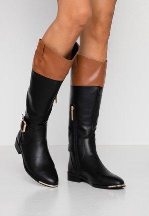 Støvler - black/tan