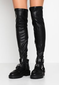 River Island - Over-the-knee boots - black - 0