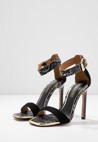 River Island - Sandaler med høye hæler - black - 4