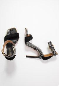 River Island - Sandaler med høye hæler - black - 3