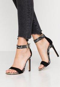 River Island - Sandaler med høye hæler - black - 0