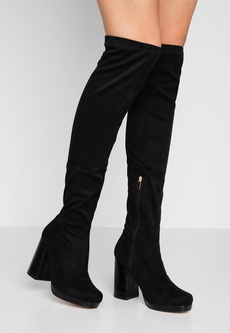 River Island - High heeled boots - black