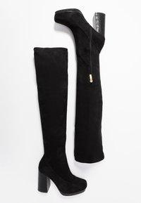 River Island - High heeled boots - black - 3