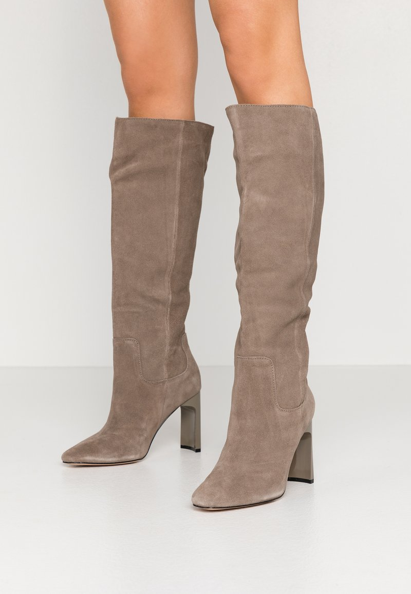 River Island - High heeled boots - grey dark