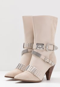 River Island - High heeled boots - white - 4
