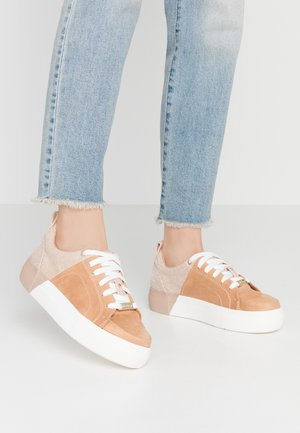 Trainers - beige/dark