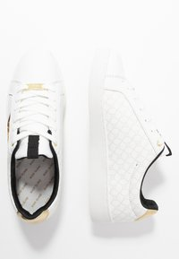 River Island - Matalavartiset tennarit - white - 1
