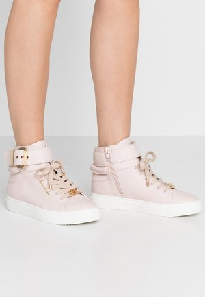 Sneakersy wysokie - light pink