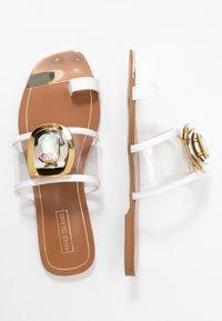 River Island - T-bar sandals - white - 3