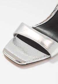 River Island - High heeled sandals - silver - 5