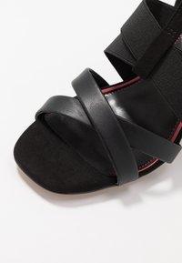 River Island - High heeled sandals - black - 2