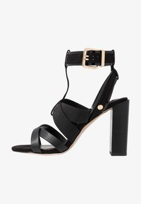 River Island - High heeled sandals - black - 1