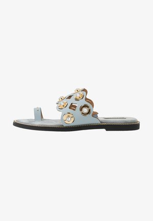 Teensandalen - light blue