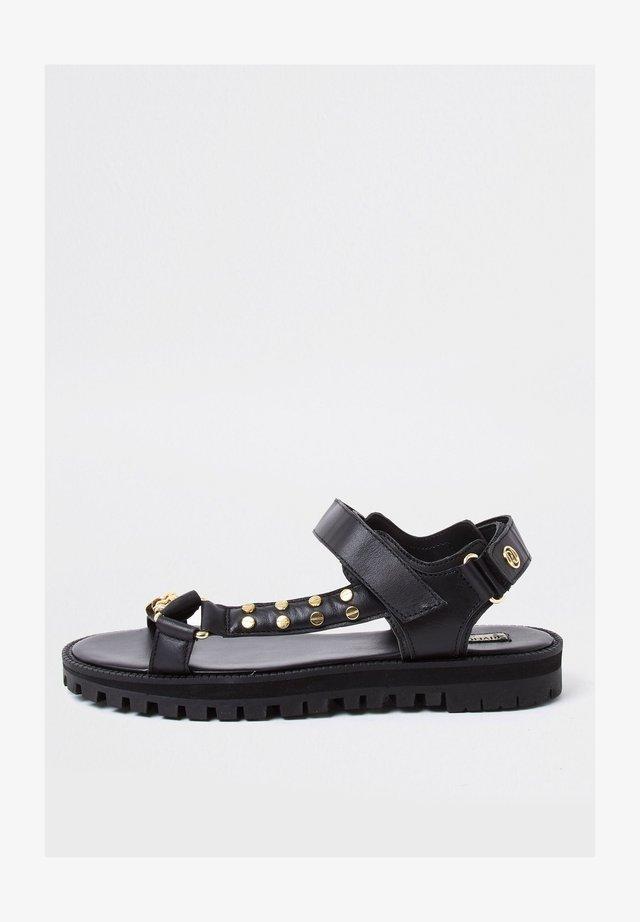 ASYMMETRIC SPORTY  - Sandals - black
