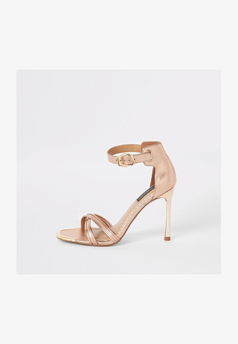 River Island Wide Fit - High heeled sandals - pink