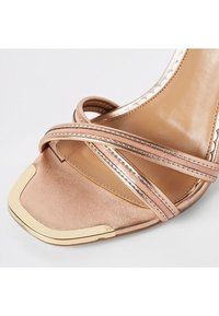 River Island Wide Fit - High heeled sandals - pink - 3