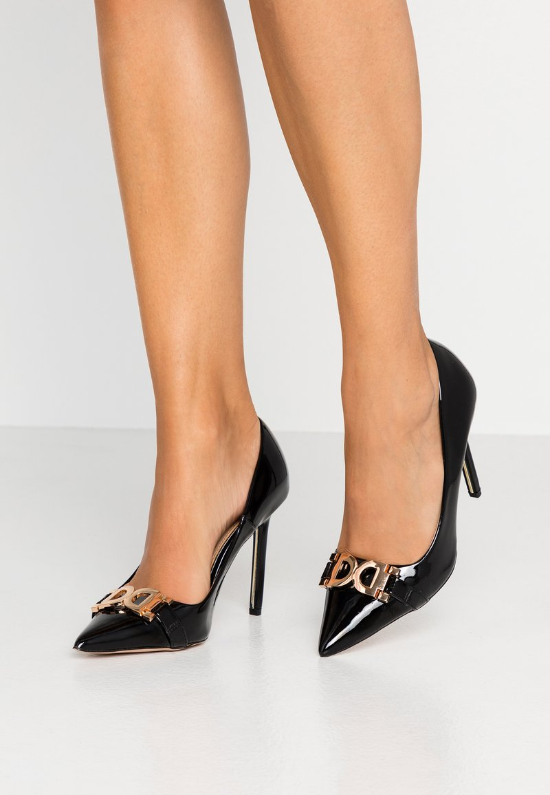 River Island - Højhælede pumps - black